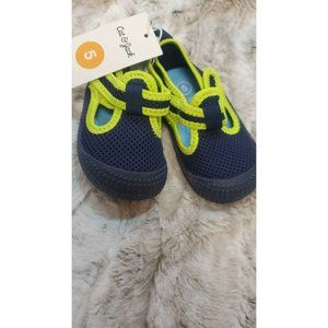 Boys Breathable Water 💧Shoes 👞 Navy and n